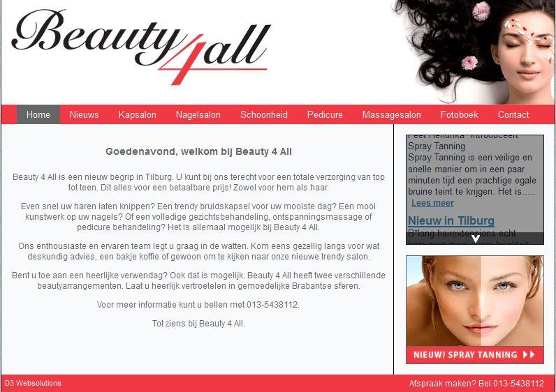 Beauty 4 All Tilburg